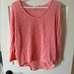 Ginger G Pink Knit Top